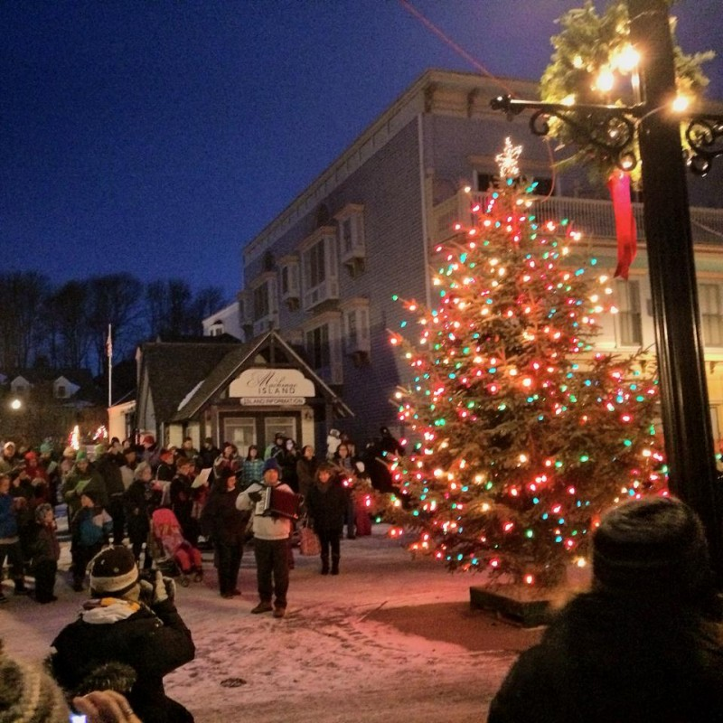 Holidays on Mackinac Island
